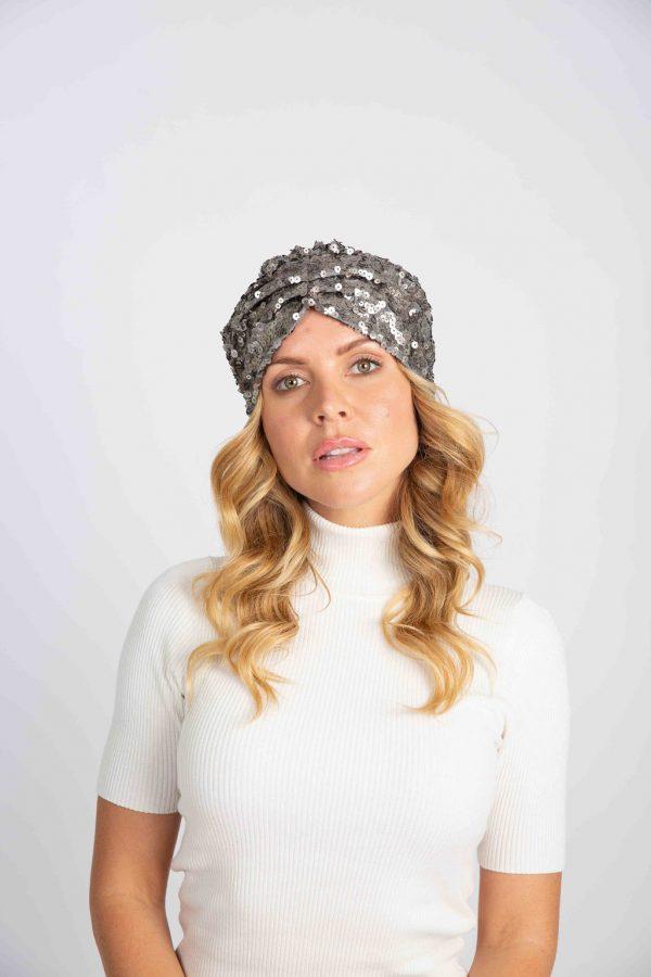 silver turban